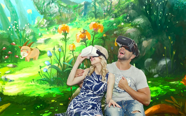 virtual reality, VR-therapie