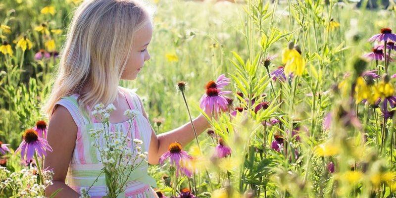 natuur, kind, mentale welzijn